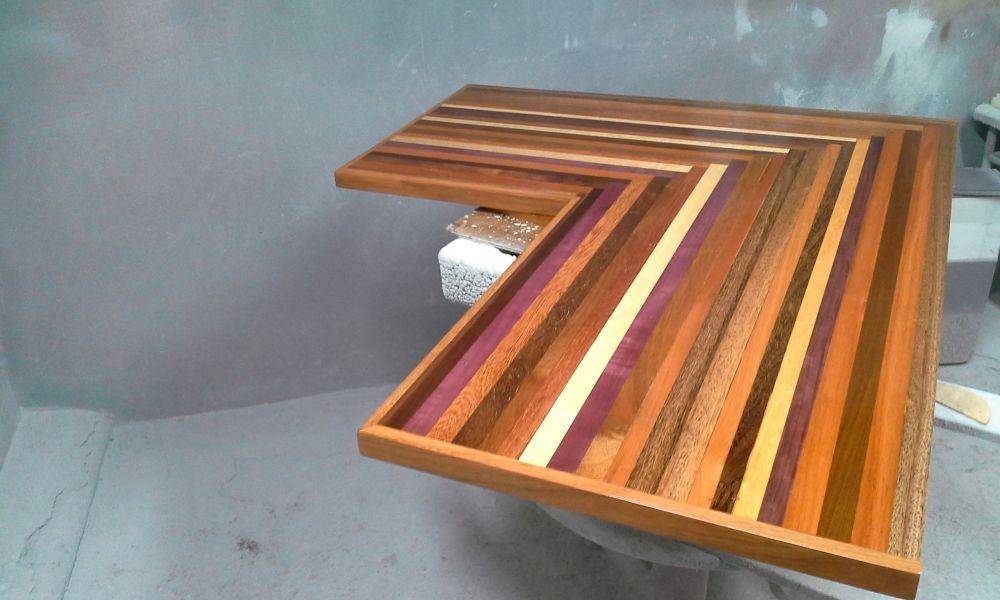Side Table Keuken : Washington shabby chic gold coffee table u amflorence