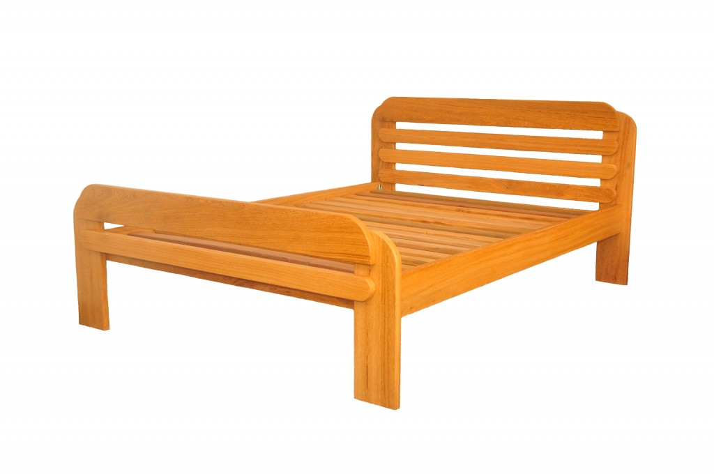 2 Persoons Spijlenbed.Bed Sara Suriname Furniture Group