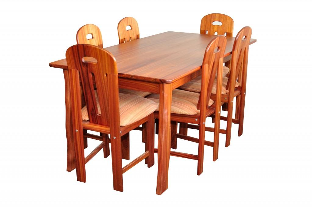 6 Persoons Eetkamer Set.Sharon Dining Set Suriname Furniture Group